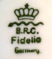 Porzellan von Bauer, Rosenthal & Co.