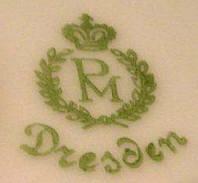 Porzellan von Dresdner Porzellanmalerei Dr. Rudolf Reinecke