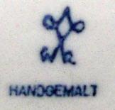 Porzellan von Wilhelm Rittirsch Porzellanfabrik