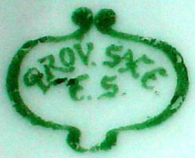 Porzellan von Erdmann Schlegelmilch Porzellanfabrik
