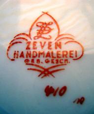Porzellan von Werra-Porzellanfabrik AG / C. & E. Carstens