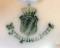Porzellan von Königliche Porzellan-Manufaktur Nymphenburg