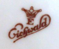 Porzellan von Eichwalder Porzellanfabrik Dr. Widera & Co.