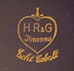 Porzellan von HR & G Porzellanfabrik