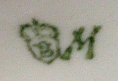 Porzellan von Porzellanfabrik  E. & A. Müller