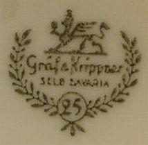 Porzellan von Heinrich & Co. Werk Gräf & Krippner