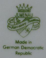Porzellan von VEB Porzellanwerk Graf von Henneberg