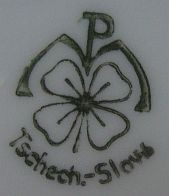 Porzellan von Porzellanfabrik  Merklsgrün/Merklín Okres Karlovy Vary
