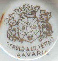 Porzellan von Porzellanfabrik Gerold & Co. / Neue Porzellangesellschaft mbH