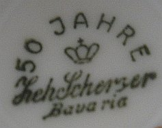 Porzellan von Zeh, Scherzer & Co. AG