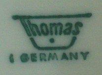 Porzellan von Rosenthal Porzellan AG für Porzellanfabrik F. Thomas