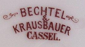Porzellan von Porzellan- u. Glaswaren Bechtel & Krausbauer