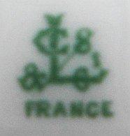 Porzellan von Chatres-sur-Cher