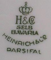 Porzellan von Heinrich & Co.