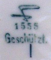 Porzellan von Herzoglich Braunschweigische Porzellan Manufaktur / Fürstenberger Porzellanmanufaktur / Fürstenberger Porzellanfabrik AG
