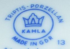 Porzellan von VEB Porzellanwerk Kahla