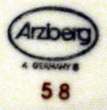 Porzellan von Porzellanfabrik Arzberg