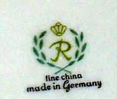 Porzellan von VEB Porzellanwerk Reichenbach
