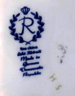 veb porzellanwerk reichenbach in reichenbach in deutschland im zeitraum ca 1981 1990. Black Bedroom Furniture Sets. Home Design Ideas