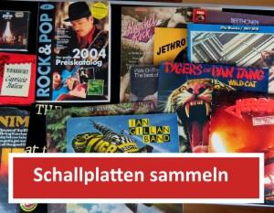 Schallplatten sammeln